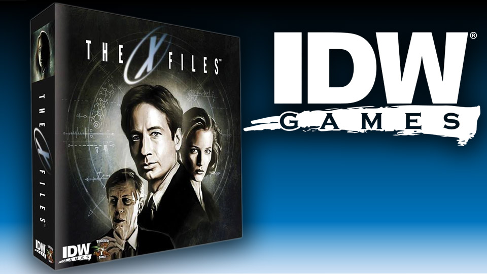 idw - X-Files devient un board game