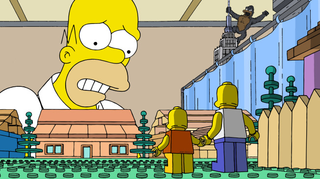 Les Simpson version LEGO : le teaser