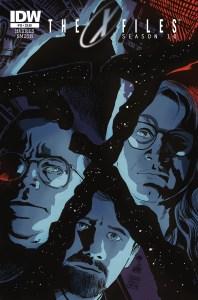 x-files en comics