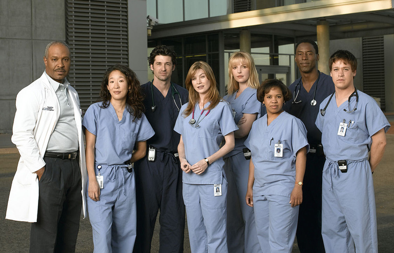 ABC - Flashback Grey's Anatomy : retour aux origines poster greys anatomy season 1