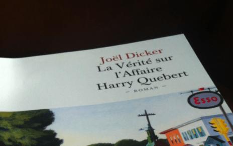 joel dicker - La Vérité sur l'Affaire Harry Quebert est sorti en poche