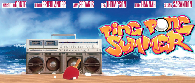 CEFF - Ping Pong Summer, de Michael Tully : The Eye of the Tiger ping pong summer 2014 Movie Poster