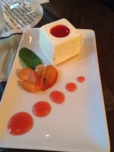 Cube de cheesecake