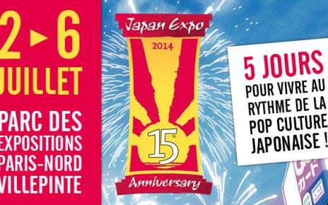 japan expo 2014 - Japan Expo 2014 : 15 ans et pas près de grandir ?
