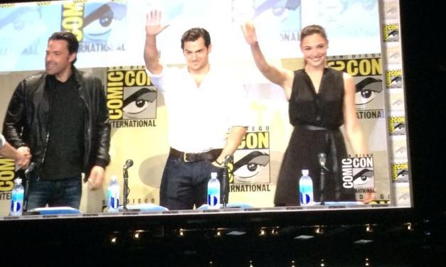 Comic-Con 2014 : Première image de Wonder Woman dans Dawn Of Justice