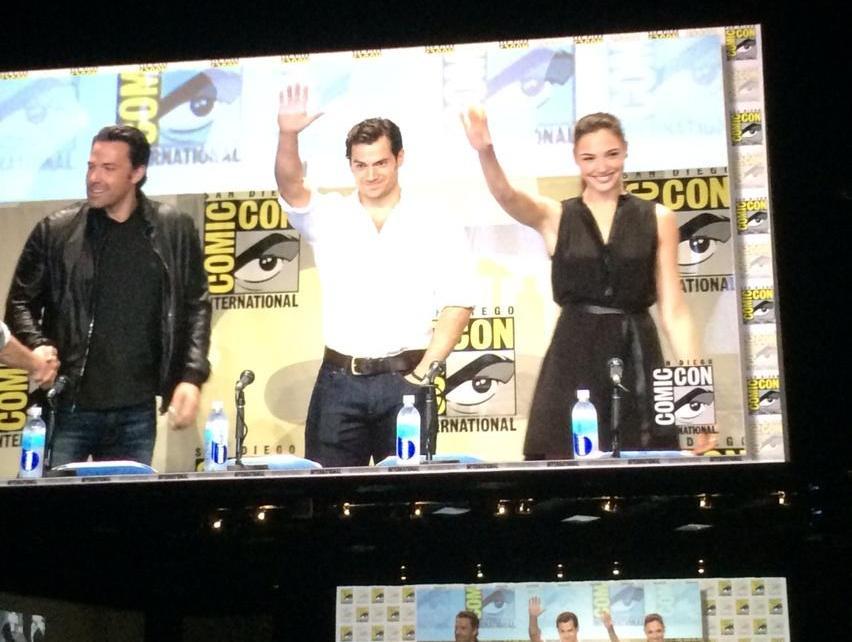 Comic-Con 2014 - Comic-Con 2014 : Première image de Wonder Woman dans Dawn Of Justice