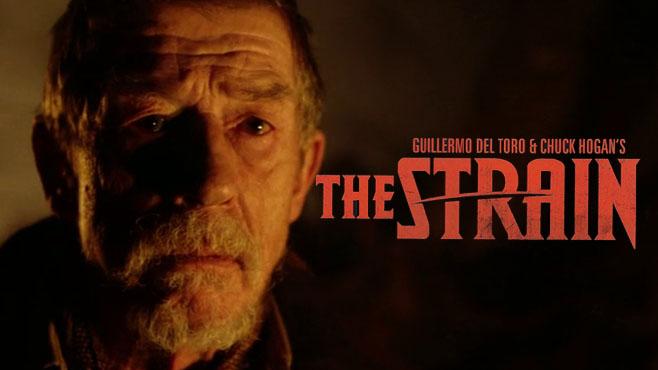 guillermo del toro - The Strain ou le retour du filtre jaune John Hurt The Strain