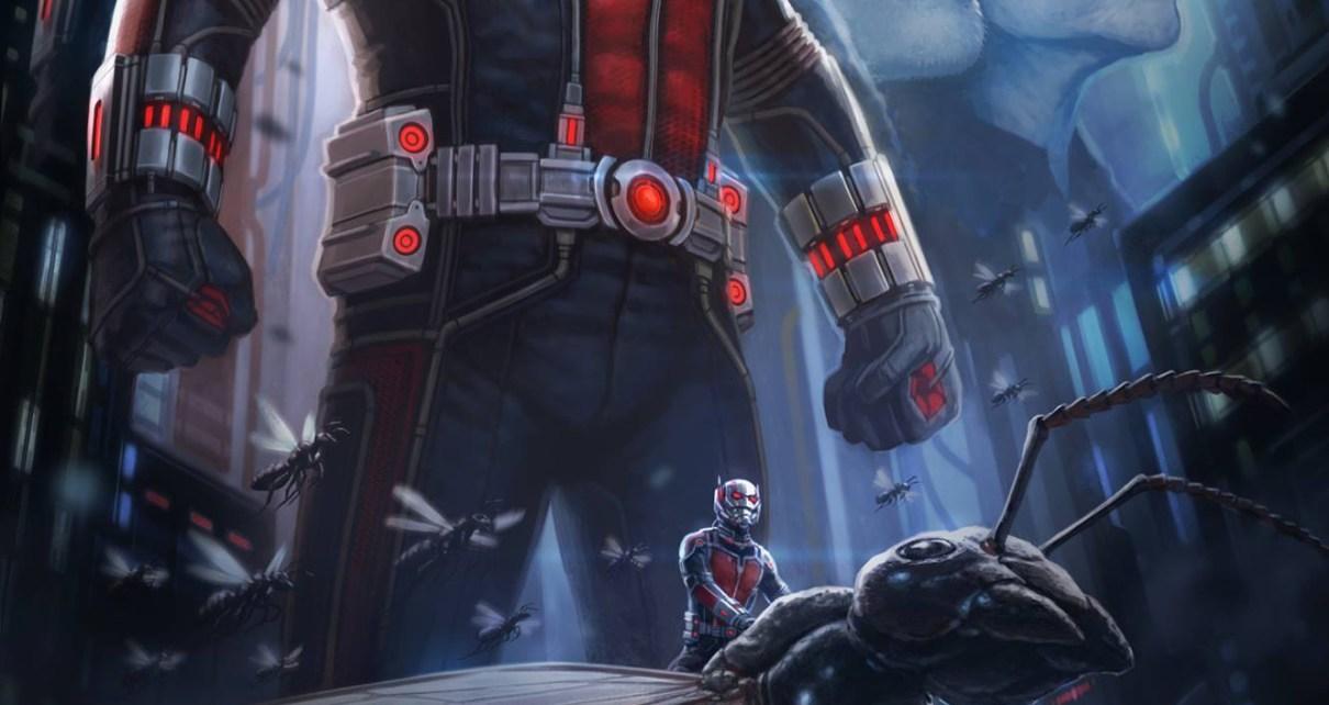 ant-man - Ant-Man : taille miniature et cerveau assorti