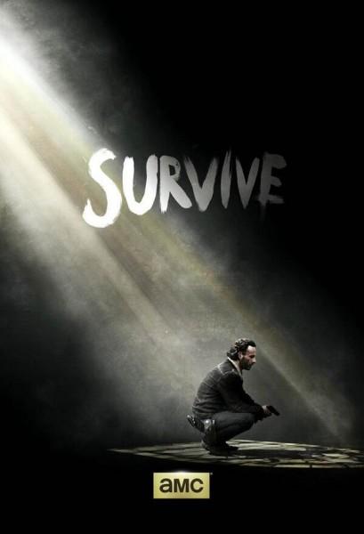 Walking Dead - The Walking Dead 5x01 : No Sanctuary the walking dead poster survive saison 51