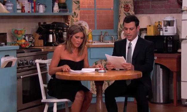 Friends de retour… chez Jimmy Kimmel