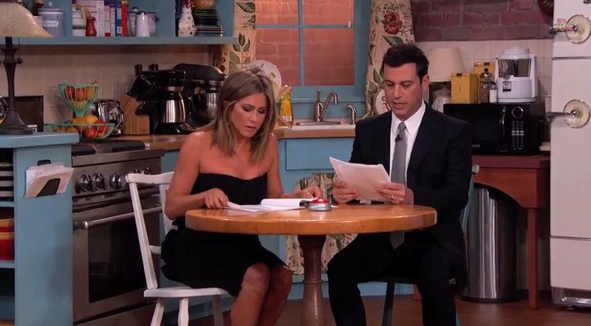 friends - Friends de retour... chez Jimmy Kimmel friends kimmel