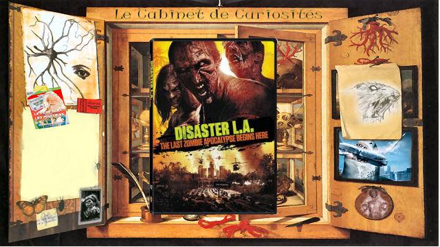Le Cabinet de Curiosités - Le Cabinet de Curiosités présente des météorites et des zombies dans Disaster L.A. lcdc Disaster