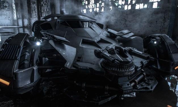 La Batmobile de Batman V. Superman dévoilée