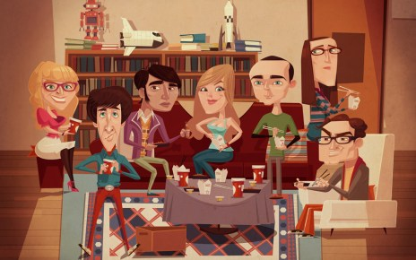 Big Bang Theory - Exposition BIG BANG THEORY au forum des Halles à Paris exposition big bang theory jamesgilleard web