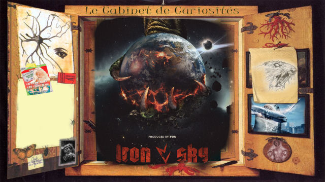 cabinet de curiosités - Iron Sky The Coming Race : nazis, T-Rex et SF ironsky2 news