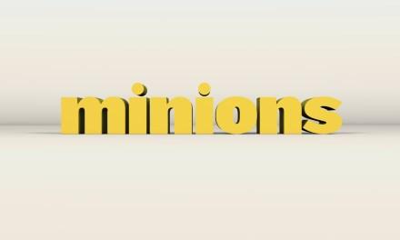 Le film Les Minions se dévoile