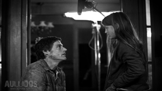 Tournage du film : Jeffrey Donovan et Quinn McColgan