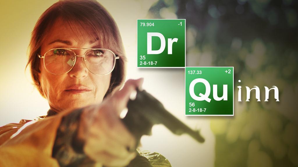 Dr. Quinn, Morphine Woman : la parodie Breaking Bad-esque