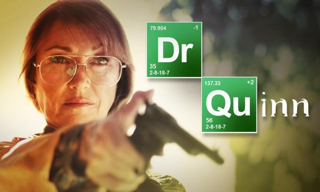 Dr. Quinn, Morphine Woman : la parodie Breaking Bad-esque