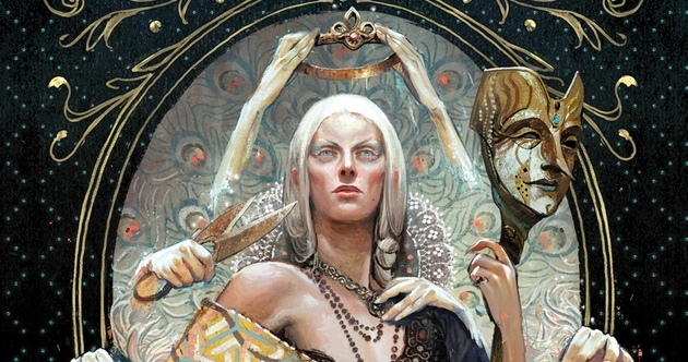 dragon age - Dragon Age - L'Empire masqué : le livre du jeu dragon age empire masqué couv