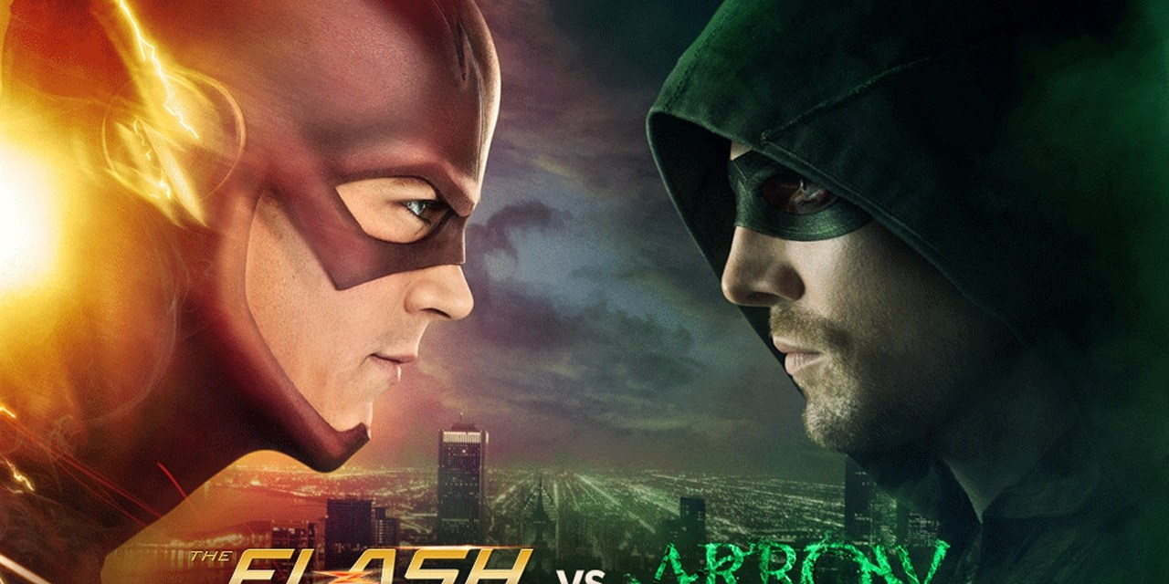Flash 1×08 Flash vs Arrow
