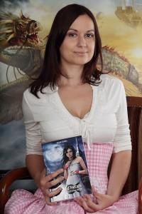 Cécile Guillot, auteure de la saga