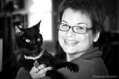 Jacquelyn Frank... et son chat