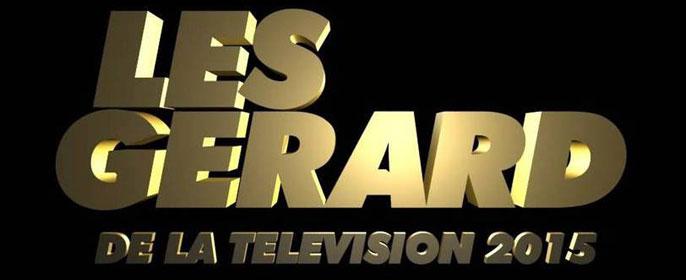 gérard de la télévision - Les gagnants des Gérard de la TV gerard 2015