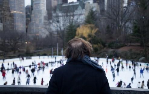 L'attente à Central Park