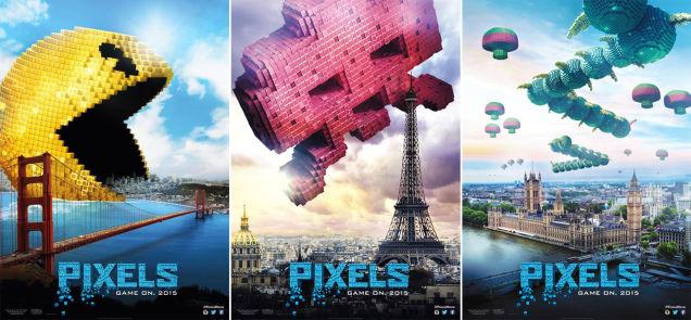 Pixels : Game over