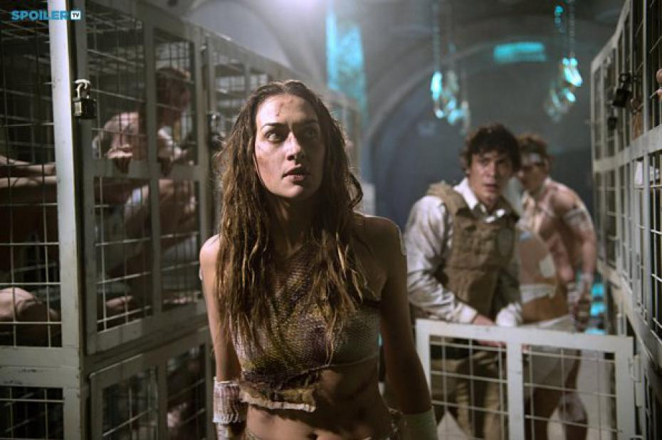 The 100 saison 2 - The 100 2x15 Blood must have blood 1/2
