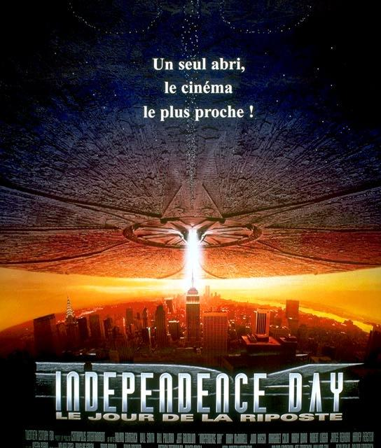 Independence Day (1996) : Best pop-corn movie ever.