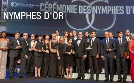 Festival monte carlo - Les lauréats des Nymphes d'or