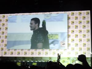 comic con san diego - Comic Con 2015 : Une journée au Hall H hall h arrow