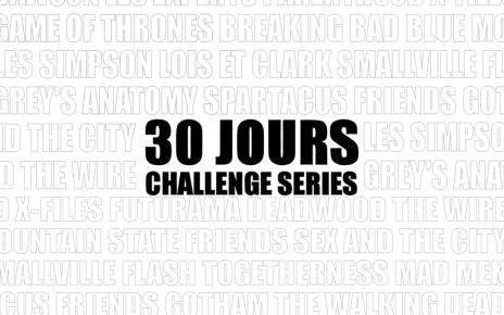 30jourschallengeséries - 30 Jours Challenge Séries : Jour 29 - Votre obsession du moment 30jours