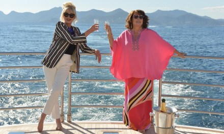 ABSOLUTELY FABULOUS : le film en tournage