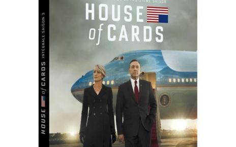 concours - CONCOURS TERMINE : gagnez la saison 3 de HOUSE OF CARDS en blu-ray blu ray coffret house of cards saison 3