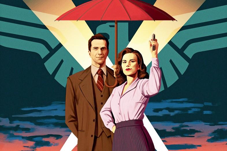 Agent Carter - Le trailer de la saison 2 d'Agent Carter se dévoile ! Agent Carter Season 2 Poster