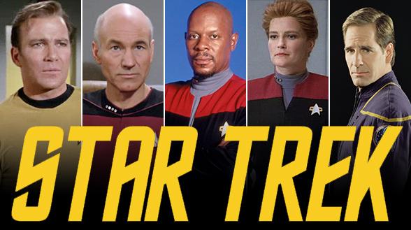 univers etendu - STAR TREK de retour en série en 2017 StarTrek Capns