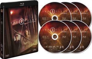 x-files - Détails et visuels des coffrets blu-ray X-Files à travers le monde XF Bluray jap s6