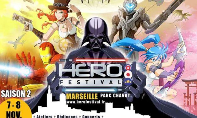 Visite de la 2e édition du HeroFestival
