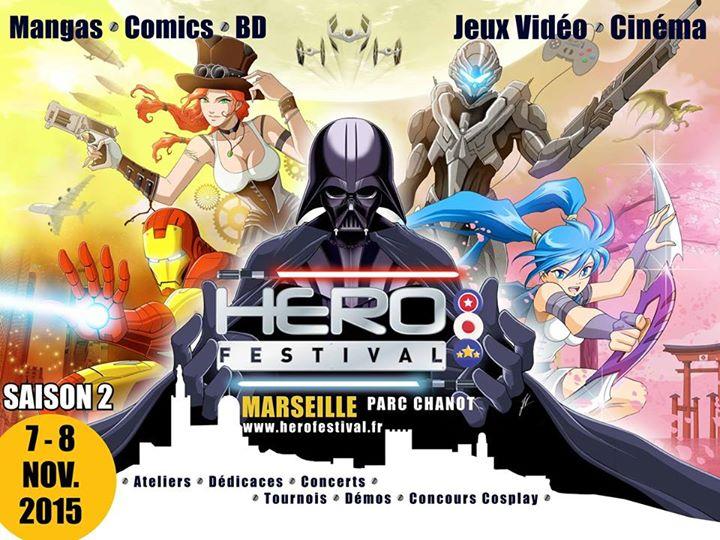 convention - Visite de la 2e édition du HeroFestival