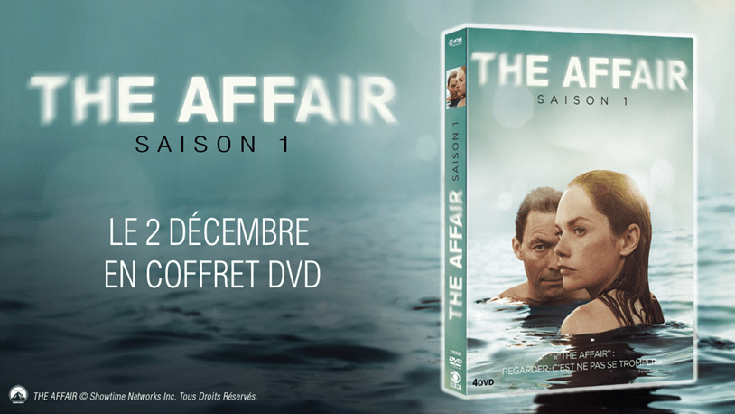 The AFFAIR en DVD le 2 décembre