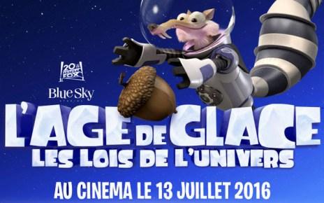 age de glace - L'AGE DE GLACE 5 : les lois de l'univers se dévoile