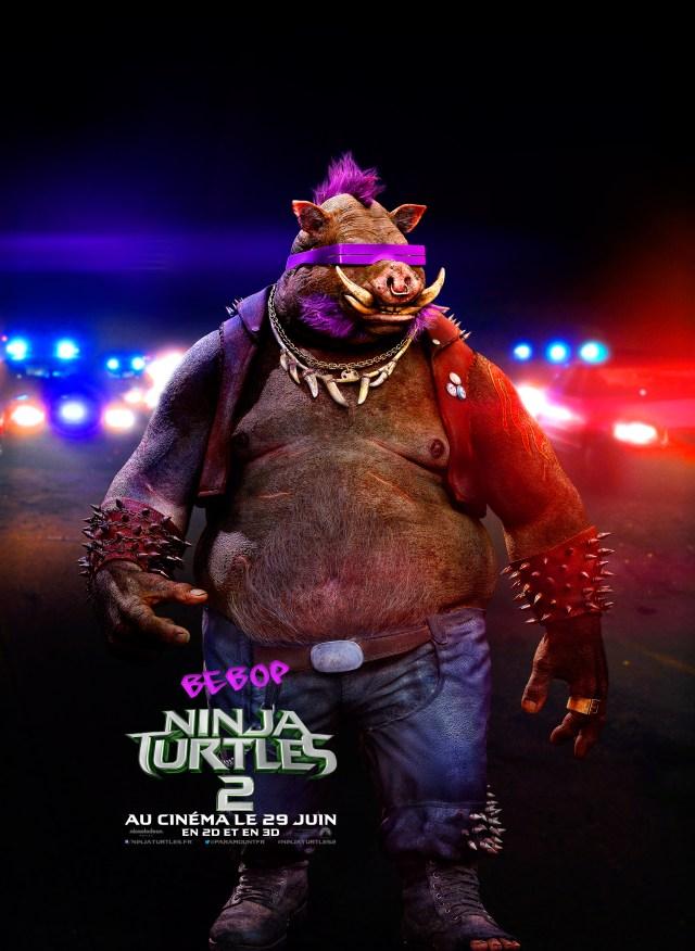 ninja turtles - Les Ninja Turtles reviennent dans un trailer fou NINJA TURTLES 2 Bebop FR