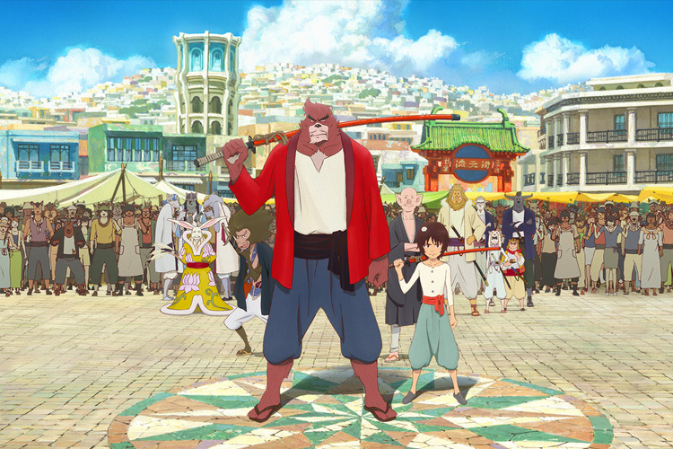 Le garçon et la bête de Mamoru Hosoda