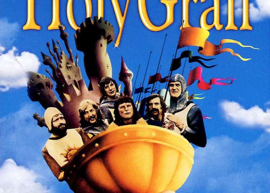 Bluray - Dear God ! Sacré Graal a 40 ans ! monty python holy grail poster