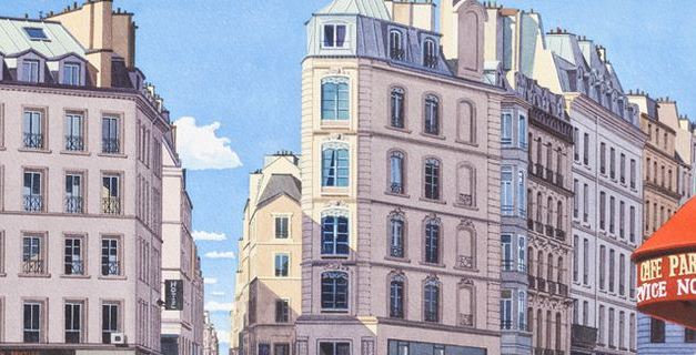 Paris New York : comparaison architecturale par Daniel Torres