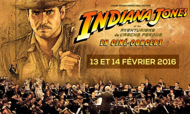 Indiana Jones, le ciné-concert