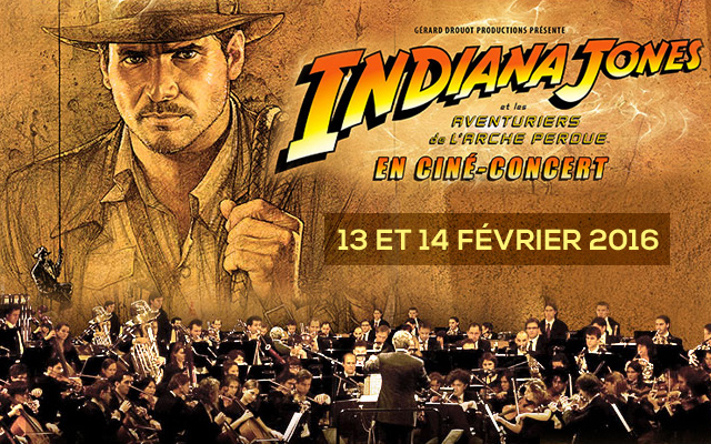 indiana jones ciné-concert